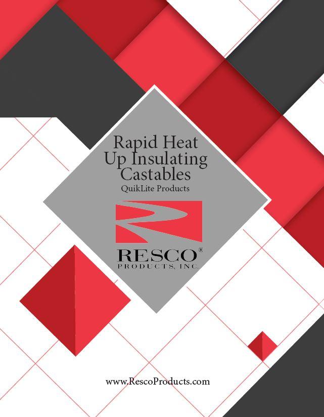 Rapid Heat Up Insulating Castable - QuikLite Brochure