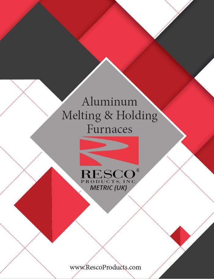 (UK) Aluminum Melting and Holding Furnace - Front Image 2